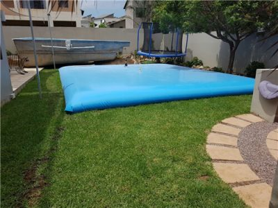 How to Use a Temporary Storage Water Tank When Clean or Repair The ...