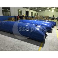 High Quality PVC Collapsible Inflatable 100 Gallon Water Bladder